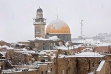 Jerusalem braces for rare snowfall as major winter storm bears down on Israel