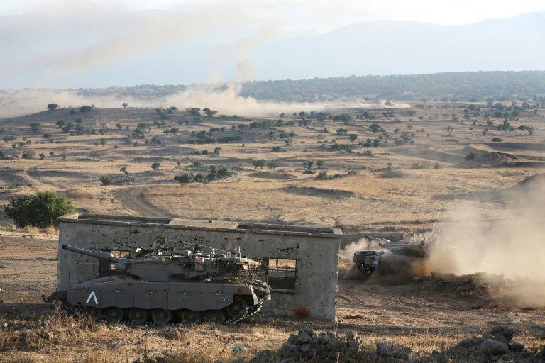Israël: l'armée riposte suite au tir d'un projectile en provenance de Syrie