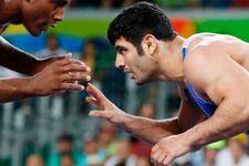 Le lutteur iranien ayant perdu volontairement suspendu six mois