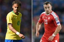 Mondial 2018: la Suisse arrache le nul contre le Brésil
