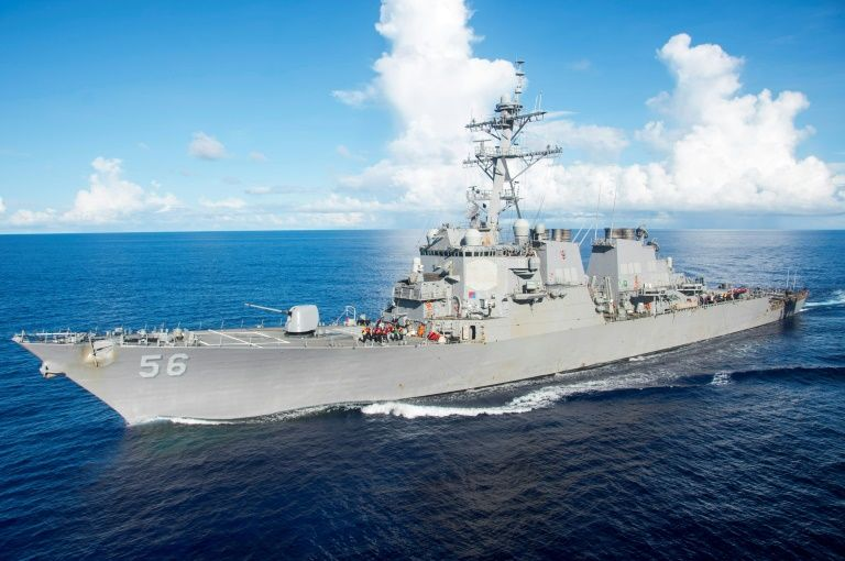 Ten sailors missing after US destroyer collision off Singapore