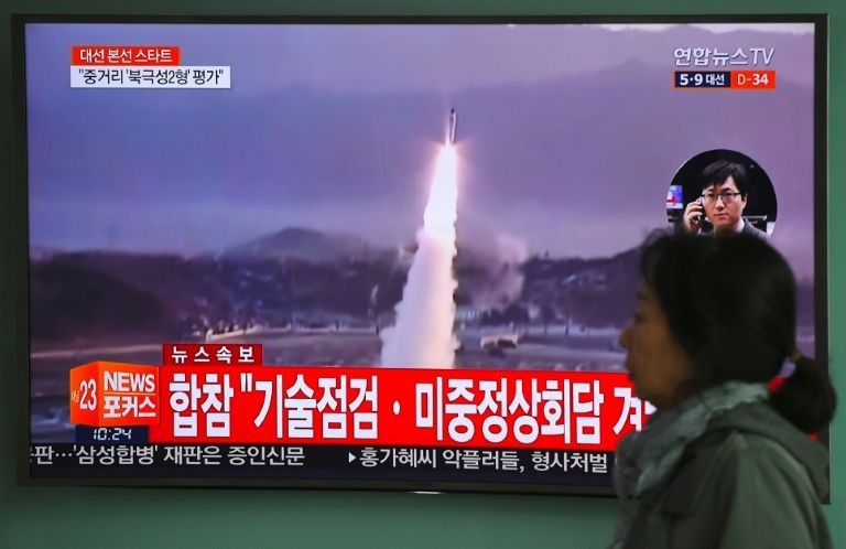 Pyongyang tire un nouveau missile malgré les menaces de sanctions