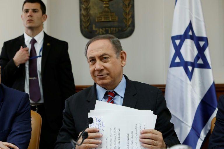 Israeli lawmaker says Netanyahu revealed classified info to US Congress members