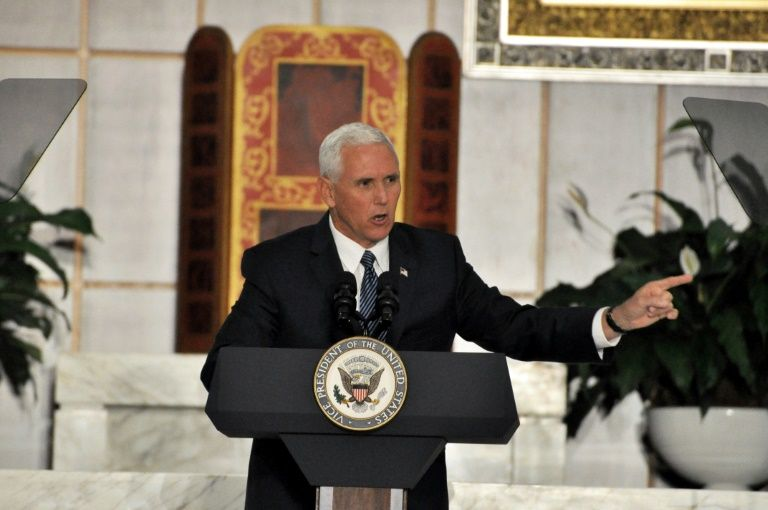 Mike Pence delays Israel, Egypt trip as tax vote nears