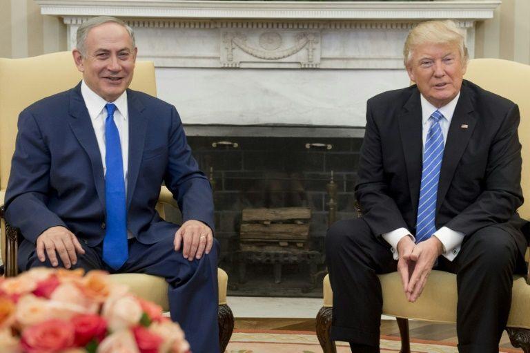 I24news in weekly address trump hails cherished ally israel