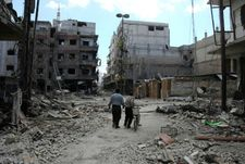 Syrie: 35 morts dans un tir de roquette rebelle sur la banlieue de Damas