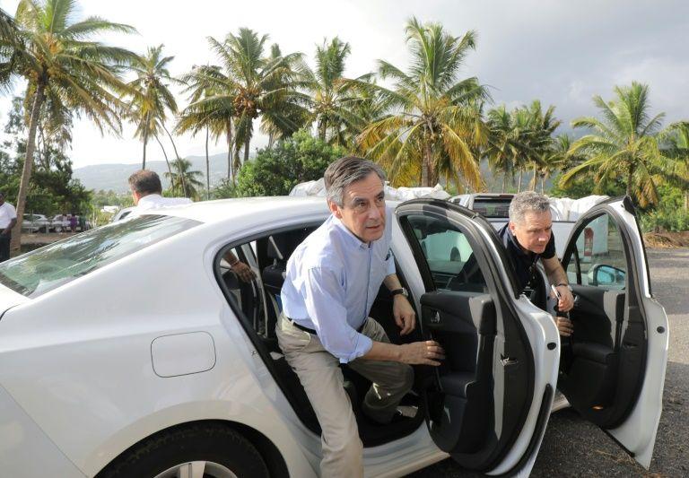 François Fillon, le 11 février 2017 à La Réunion