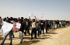 20,000 Israelis protest in Tel Aviv against deportation plan of African migrants