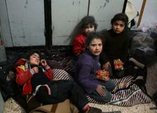 Syria, Russia pound rebel enclave, put clinics out of service