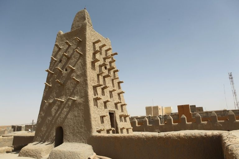 """Founded between the 11th and 12th centuries by Tuareg tribes, Timbuktu was dubbed """"the city of 333 saints"""" and added to the list of UNESCO world heritage sites in 1988"""