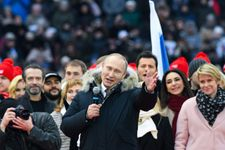 Putin wins fourth term with record 76% of vote