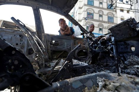 Strikes, clashes kill 51 in Yemen
