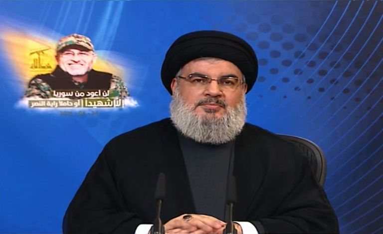 Hezbollah chief warns Israel against starting war with Lebanon