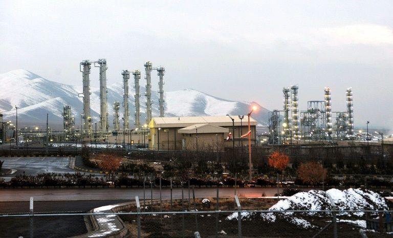 Le réacteur à eau lourde d'Arak, en Iran, le 15 janvier 2011