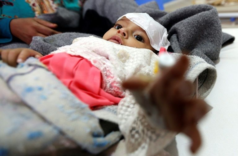 World's worst outbreak of Cholera in Yemen as cases reach 200000