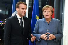 Chancellor Angela Merkel says there's a 'wide agreement' between France and Germany when it comes to EU reform