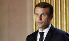 French President Emmanuel Macron said he was working with Senegal to boost the Global Partnership for Education to expand and improve schooling around the world