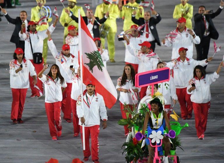 Lebanon's Olympic delegation