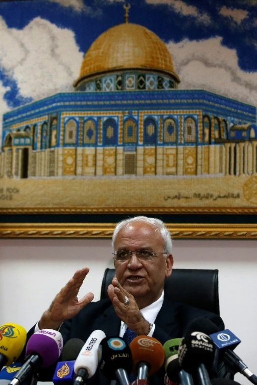 Top Palestinian official warns against 'apartheid' one-state solution