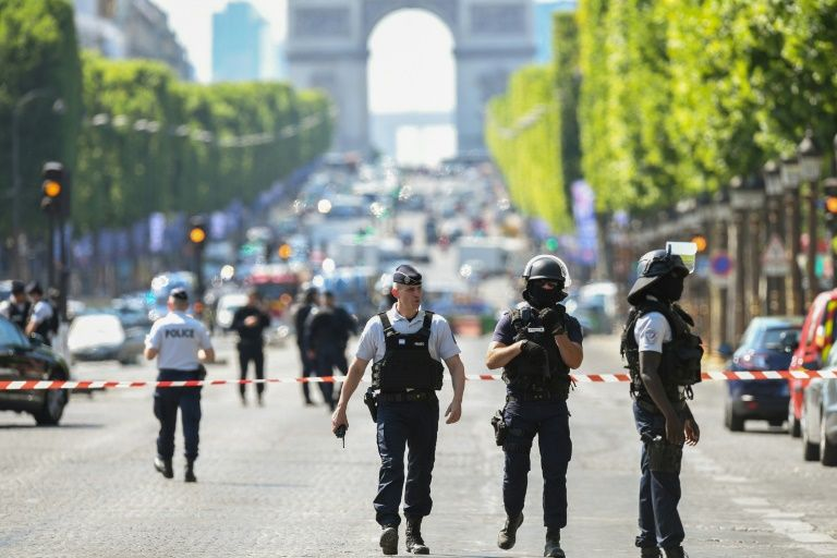 Paris Champs-Elysees attacker pledged allegiance to IS