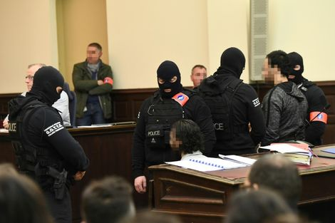 Paris suspect Abdeslam sentenced to 20 years over Brussels shootout