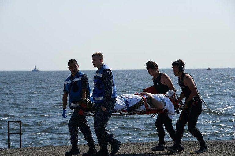 Japon: des marins retrouvés morts dans le destroyer accidenté