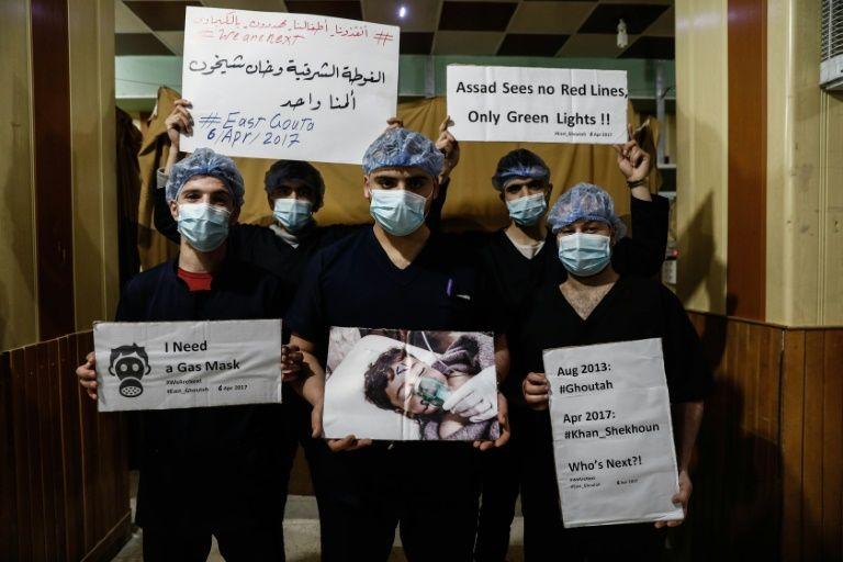 """Attaque chimique en Syrie: Damas incriminé """"avec certitude"""" par la France"""
