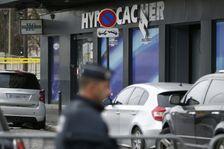 L'Hypercacher de la Porte de Vincennes au lendemain de l'attaque, le 10 janvier 2015