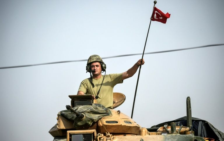 The earlier stages of Turkey's campaign in Syria proceeded with lightning speed and the border town of Jarabulus was taken on the first day of the offensive
