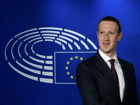 Facebook CEO Mark Zuckerberg faced often hostile questions from European lawmakers this week