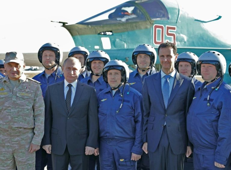 Russian Federation begins to withdraw troops from Syria