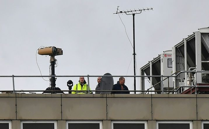 i24NEWS - Israeli anti-drone system used to re-open London's