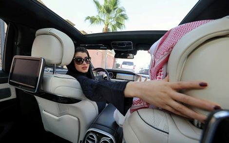 "Saudi Arabia has arrested two more women's rights activists, in an ""unrelenting crackdown"" just days before the kingdom ends a decades-long ban on female motorists, Human Rights Watch says"