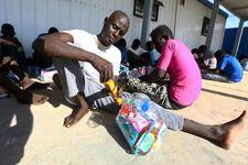 Flow of migrants into Libya plummets, but spike seen in Greece