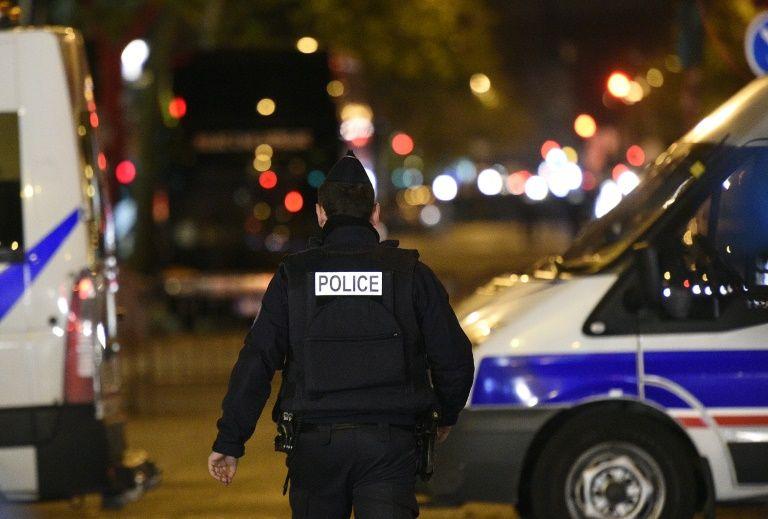 La police patrouille le 14 novembre 2015 près du Bataclan à Paris
