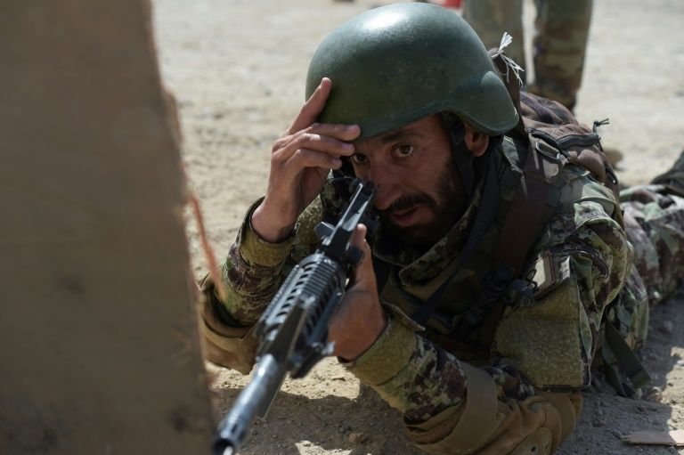 Afghan security forces killed in