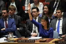US will veto 'one-sided' UN draft on protecting Palestinians: Haley