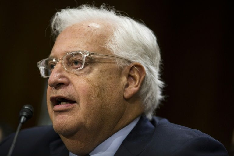 Pro-settlement David Friedman confirmed by Senate as US envoy to Israel