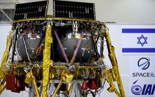 Israeli spacecraft loaded with time capsule ahead of historic moon journey