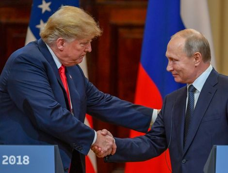 Trump says no president has been as 'tough' on Russia