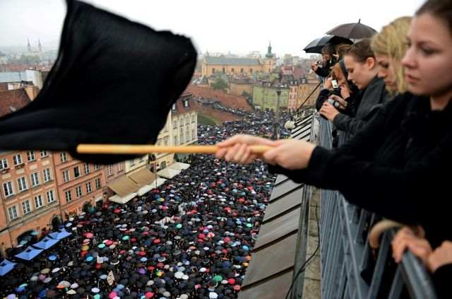 Pro-choice Poles gear up for 'Black Wednesday' protest