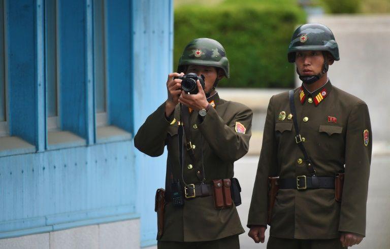 Tirs d'avertissement de l'armée sud-coréenne sur un objet nord-coréen
