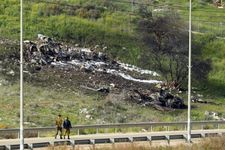 IDF says F-16 fighter jet likely downed by shrapnel