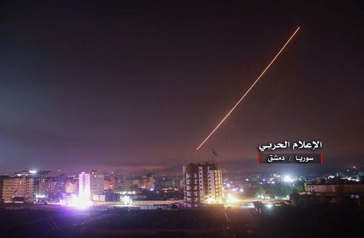 i24NEWS - Iranian weapons allegedly targeted by Israeli