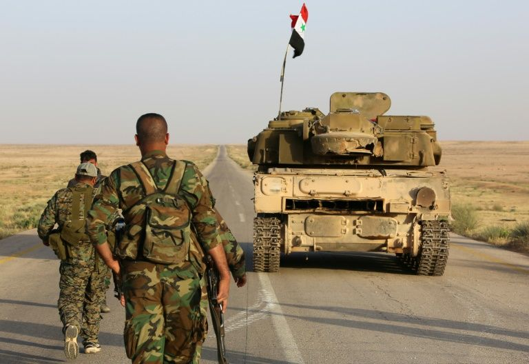 Syrian army regains control of airport in northern Syria from Islamic State