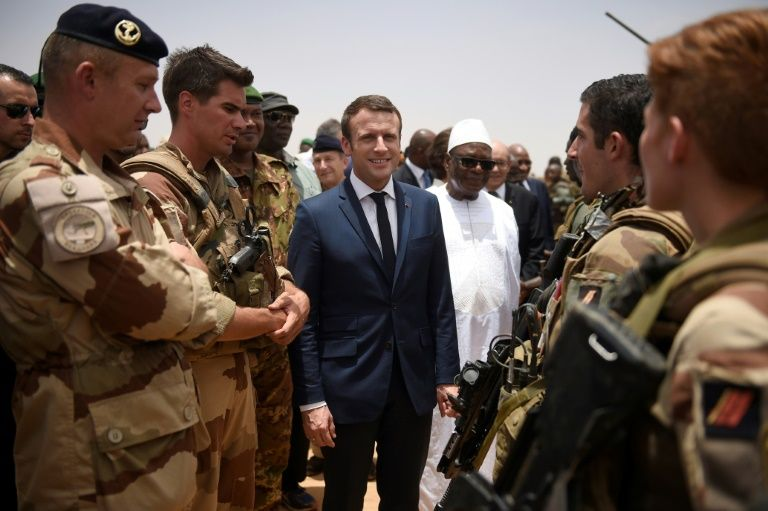 فرنسا لن تتوانى في محاربة التنظيمات المسلحة في مالي — ماكرون