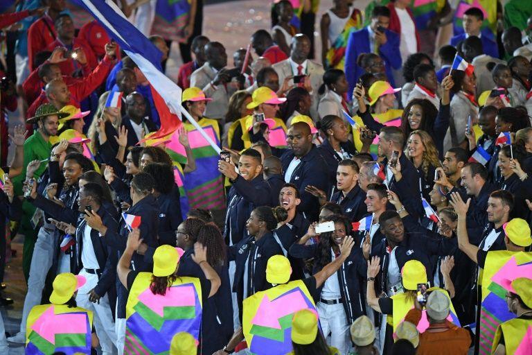 France's Olympic delegation