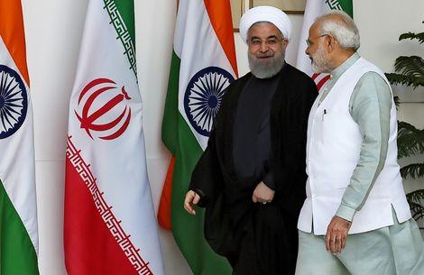 روحاني يجتمع مع مودي: وجهات نظرنا متطابقة في سوريا واليمن والعراق