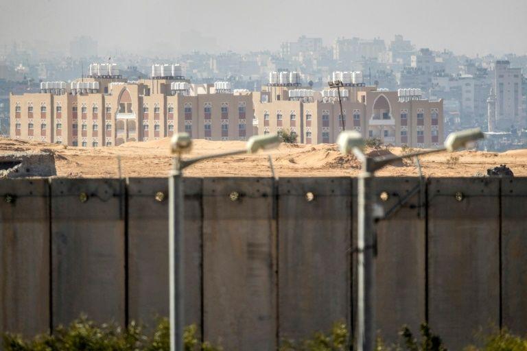 Israel moves ahead on underground wall around Gaza