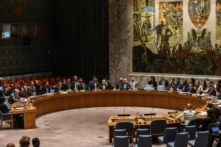 Réunion du conseil de sécurité de l'ONU consacré à la Corée du Nord le 4 septembre 2017 à New YorkSTEPHANIE KEITH